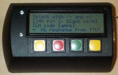 Photo of fault code reader prototype